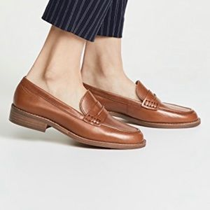 Madewell Elinor loafer in leather